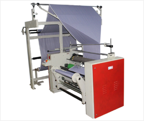 Fabric Double Fold Lapping Machine