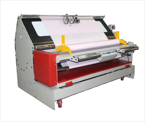 Fabric Rolling Machine Mini Inspection + Roll
